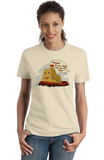 Ladies Natural Everyone Can Use A Little Tug Now And Again - Tugboat Cute Funny T-shirt
