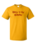 Standard Gold Harry is My Homeboy - Literary Humor, Wizard Love T-shirt