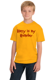 Youth Gold Harry is My Homeboy - Literary Humor, Wizard Love T-shirt