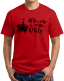 Standard Red Stephen Is The King - Funny Horror Book Reading Fan Humor T-shirt