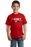 Youth Red It Only Seems Kinky The First Time - BDSM Pride Funny Freak Kink T-shirt