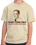 Youth Natural Not Going Bald, Just Getting More Head - Retro Sex Bald Humor T-shirt