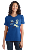 Ladies Royal No Library Card, But I'd Still Like To Check You Out! -Sex Joke T-shirt