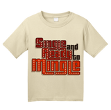 Youth Natural Single & Ready To Mingle -70s Pickup Line Old School Sex Humor T-shirt