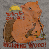NOTHING LIKE QUALITY MORNING WOOD Grey art preview