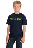Youth Navy I Put Out - Sex Humor Proud Slutty Funny Putting Out Joke T-shirt