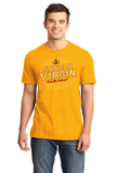 Standard Gold Save A Virgin, Ride Me Instead! - Cowboy Sex Joke Pickup Humor T-shirt