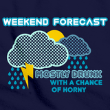 FORECAST: DRUNK W/ CHANCE OF HORNY Navy art preview