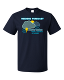 Standard Navy Forecast: Drunk W/ Chance Of Horny - Predator Warning Sex Funny T-shirt