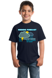 Youth Navy Forecast: Drunk W/ Chance Of Horny - Predator Warning Sex Funny T-shirt