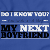 YOU LOOK LIKE MY NEW BOYFRIEND! Royal Blue art preview