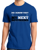 Standard Royal You Look Like My New Boyfriend! - Funny Drinking Pickup Line Bar T-shirt