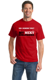 Standard Red You Look Like My New Girlfriend - Funny Drinking Pickup Line Bar T-shirt