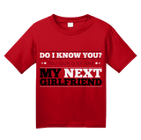 Youth Red You Look Like My New Girlfriend - Funny Drinking Pickup Line Bar T-shirt