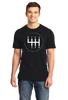 Standard Black 6 Speed Transition - Racer Manual Transmission Stick Shift T-shirt