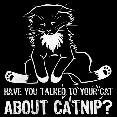 Have You Talked To Your Cat About Catnip? Black Art Preview