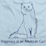 Happiness Is An American Curl Light blue Art Preview