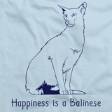 Happiness Is A Balinese  Light blue Art Preview