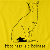 Happiness Is A Balinese  Yellow Art Preview