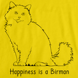 Happiness Is A Birman Yellow Art Preview