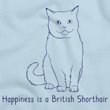 Happiness Is A British Shorthair Light blue Art Preview
