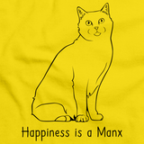 Happiness Is A Manx Yellow Art Preview