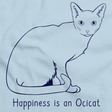 Happiness Is An Ocicat Light blue Art Preview