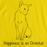 Happiness Is An Oriental Yellow Art Preview