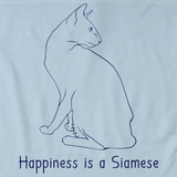 Happiness Is A Siamese Light blue Art Preview