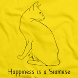 Happiness Is A Siamese Yellow Art Preview