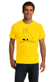 Standard Yellow Happiness Is A Turkish Angora - Cat Fancy Breed Lover Cute T-shirt