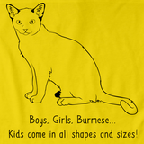 Boys, Girls, & Burmese = Kids Yellow Art Preview