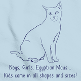 Boys, Girls, & Egyptian Maus = Kids Light blue Art Preview