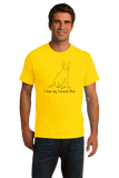 Standard Yellow I Love My Cornish Rex - Cat Fancy Breed Lover Parent Owner T-shirt
