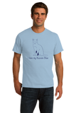 Standard Light Blue I Love My Russian Blue - Cat Fancy Breed Lover Parent Owner T-shirt