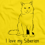 I Love My Siberian Yellow Art Preview