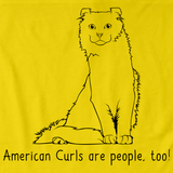 American Curls Are People Too! Yellow Art Preview