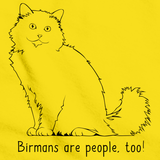 Birmans Are People Too! Yellow Art Preview