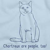 Chartreux Are People Too! Light blue Art Preview