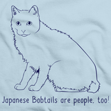 Japanese Bobtails Are People Too! Light blue Art Preview