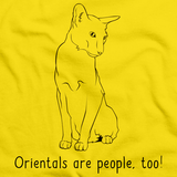 Orientals Are People Too! Yellow Art Preview