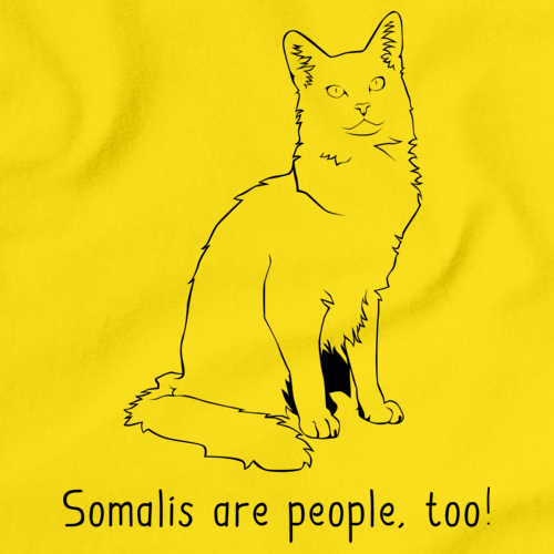 Somalis Are People Too! Yellow Art Preview
