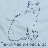 Turkish Vans Are People Too! Light blue Art Preview