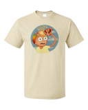 Bella+Canvas   3001 Natural Ice Cream Morty T-shirt