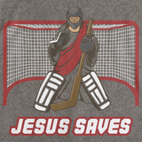 JESUS SAVES Grey art preview