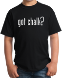 Youth Black Got Chalk? - Rock Climbing Humor Funny Parody 90s Nostalgia Joke T-shirt