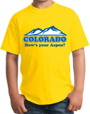 Youth Yellow Colorado