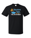 Standard Black Baking Makes Me Happy, You Not So Much - Sarcastic Baker Funny T-shirt