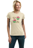 Ladies Natural Live to Bake, Bake to Live - Cute Baker Cooking Funny Baking T-shirt