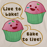 LIVE TO BAKE, BAKE TO LIVE Natural art preview
